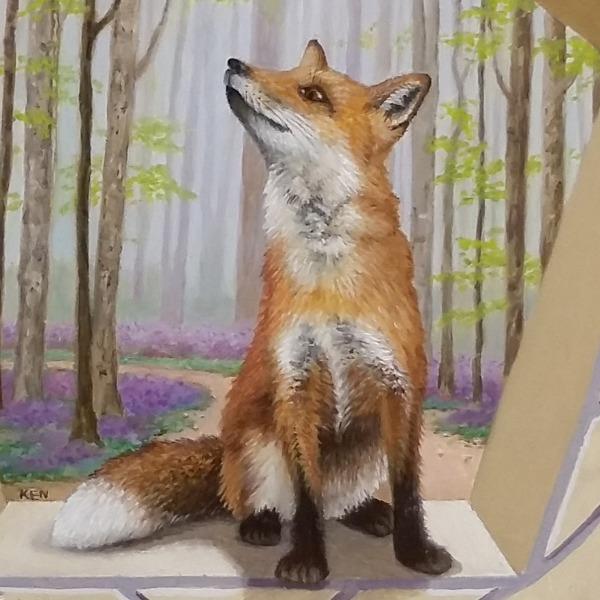 Katheryns detail of fox.