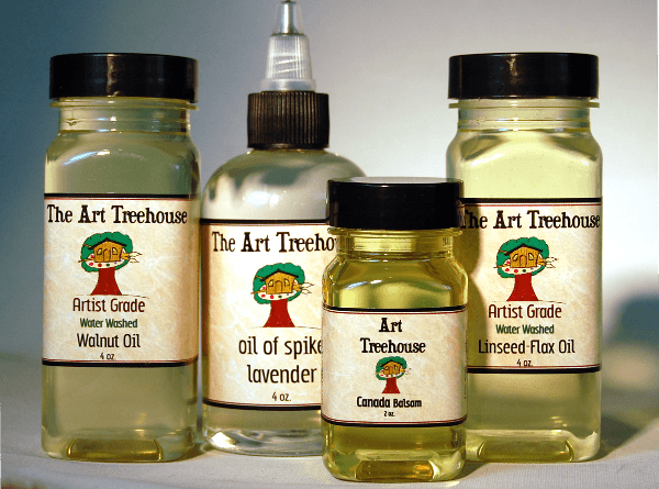 Painting and Glazing Mediums