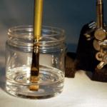 TESTING BRUSHES IN BIOBASED ARTIST THINNER