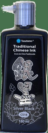 silver-black-ink